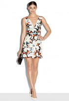Milly Gardenia Print Mini Dress