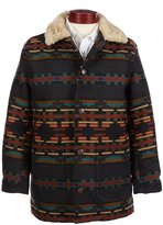 Pendleton Brownsville Shearling Collar Coat