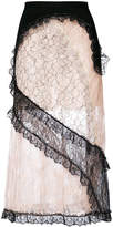 Christopher Kane patchwork lace skirt