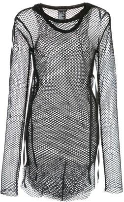 Ann Demeulemeester Knitted Mesh Tunic
