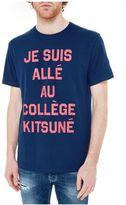Kitsune Maison Kitsun? College T-shirt