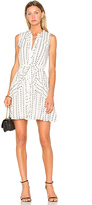 Saloni Tilly Ruffle B Dress in White. - size 0 (also in 2)