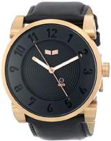 Vestal Unisex DOP012 Doppler Rose Gold Black Watch