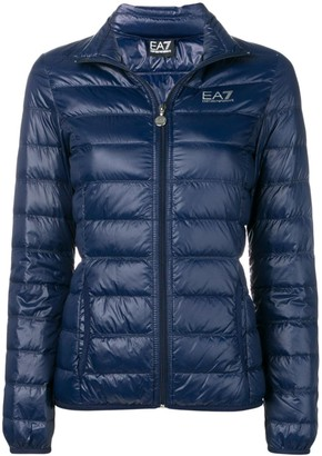 EA7 Emporio Armani Fitted Puffer Jacket