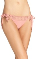 Robin Piccone Women's 'Sophia' Tie Side Bikini Bottoms