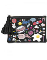 Anya Hindmarch 'All Over Stickers Georgiana' clutch