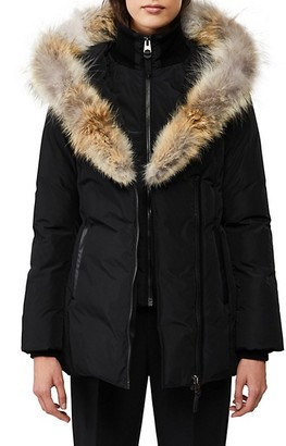 Mackage Adali Coyote Fur-Trim Coat