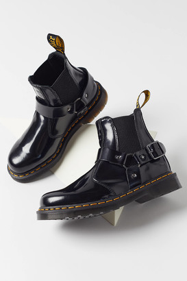 Dr. Martens Wincox Polished Smooth Leather Buckle Boot