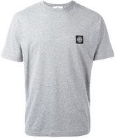 Stone Island logo patch T-shirt - men - Cotton - XXL