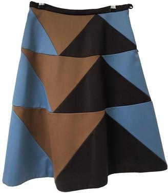 Bernhard Willhelm Brown Wool Skirt for Women