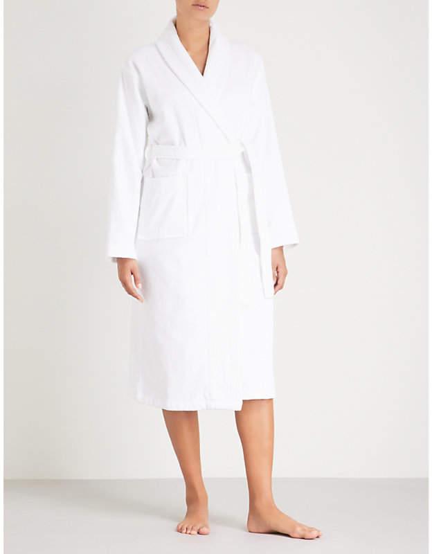 Derek Rose Triton 10 cotton dressing gown