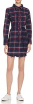 DL1961 Prince & Mott Plaid Shirt Dress - The Blue Shirt Shop