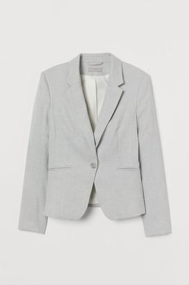 H&M Fitted Blazer - Gray