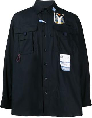 Maison Mihara Yasuhiro Strappy Back Loose-Fit Shirt