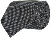 Armani Collezioni Split Stripe Silk Tie