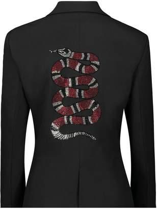 Hipchik Crystal Snake Blazer