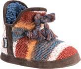 Muk Luks Women's Pennley Knitted Tassel Bootie Slipper