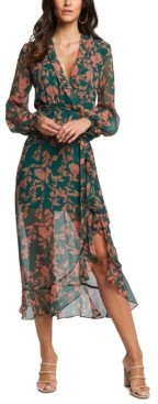 Bardot Floral-Print Maxi Dress