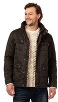 Mantaray Dark Brown Lightweight Waxed Jacket