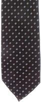 Prada Silk Polka-Dot Tie