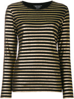 Majestic Filatures striped knit top