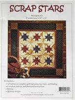 Rachel's of Greenfield Scrap Stars Quilt Kit 22-Inch X 22-Inch