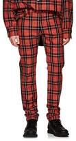 Raf Simons Men's Plaid Slim Jeans