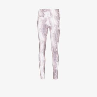 Varley Century marble print leggings