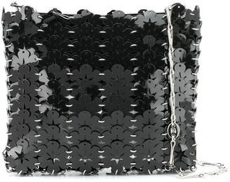Paco Rabanne Floral-Disc Shoulder Bag