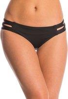 Carmen Marc Valvo Lattice Solid Strappy Side Bikini Bottom 8145106