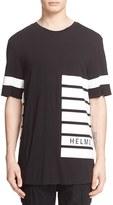 Helmut Lang Men's Stripe Print T-Shirt