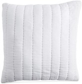 "Donna Karan DKNY PURE Quilted Voile 18"" Square Decorative Pillow"
