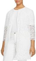 Lauren Ralph Lauren Plus Lace Duster Jacket