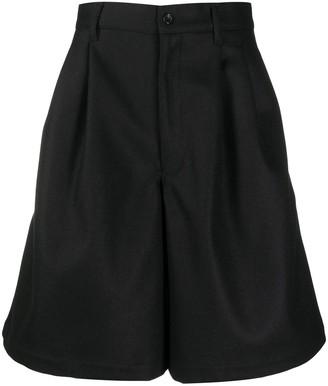 Comme des Garçons Shirt High-Waisted Tailored Shorts