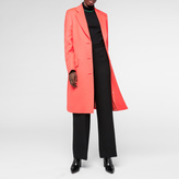 Paul Smith Women's Orange Wool Epsom Coat