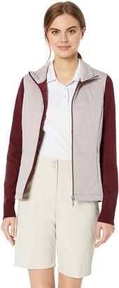 Cutter & Buck Women's CB Weathertec Cora Quilted Sweater Jacket