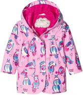 Hatley Happy Owls Raincoat Girl's Coat