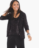 Chico's Sequin Cardigan
