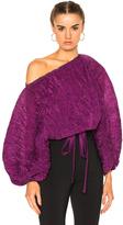 Rachel Comey Bare Top in Purple.