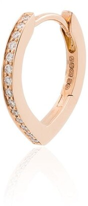 Repossi 18kt Rose Gold Diamond Single Earring