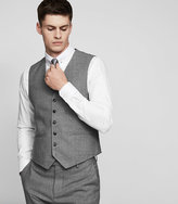 Reiss New Collection Robin W Hopsack Weave Waistcoat