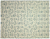 Nalbandian 9'7x7'5 Aapo Flat-Weave Rug, Blue