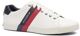 Tommy Hilfiger Signature Stripe Leather Sneaker
