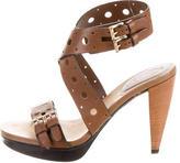 Tod's Platform Lasercut Sandals