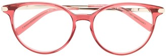 Salvatore Ferragamo SF2862 round-frame glasses