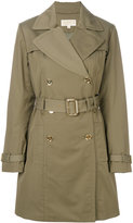 MICHAEL Michael Kors classic trench coat - women - Cotton/Polyester/Spandex/Elastane - XS