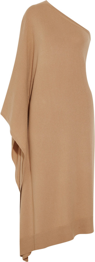 Michael Kors One-shoulder cashmere dress