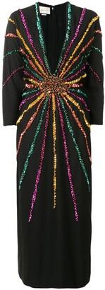 Gucci sequin embellished dress