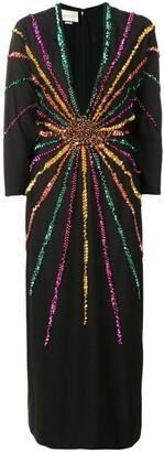 Gucci Sequin Embellished Dress