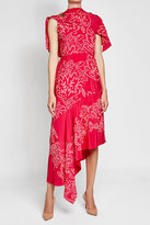 Peter Pilotto Embroidered Silk Dress